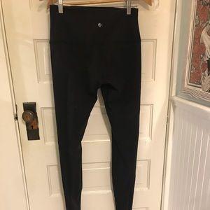 Lululemon barre leggings with foot strap size 8